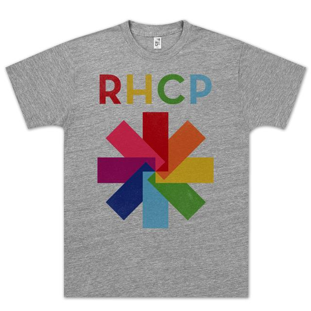 Red Hot Chili Peppers Color Spectrum T-Shirt