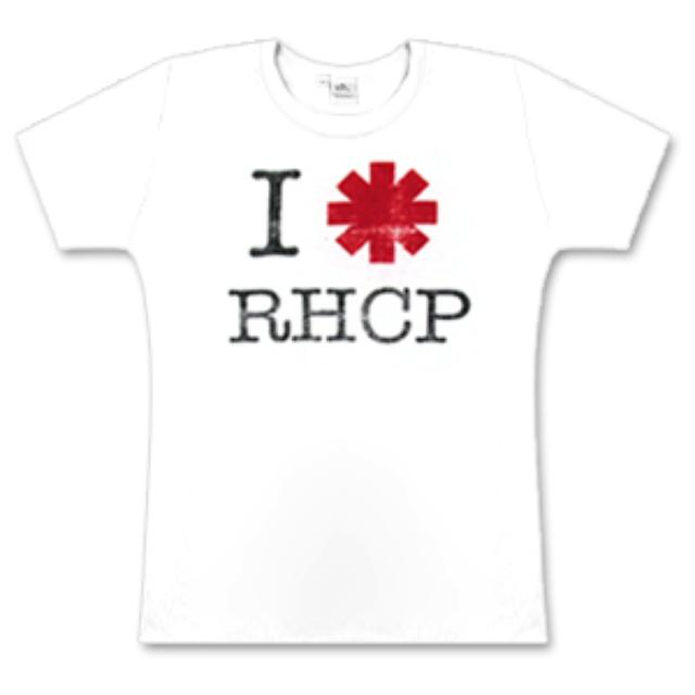 "Red Hot Chili Peppers - ""I * RHCP""  Babydoll"