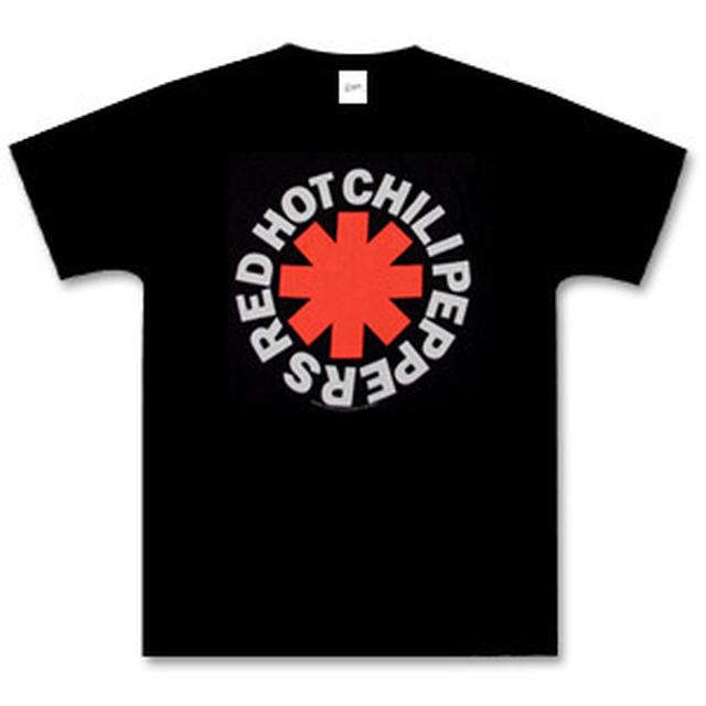 Red Hot Chili Peppers - Black Asterisk Logo T-Shirt