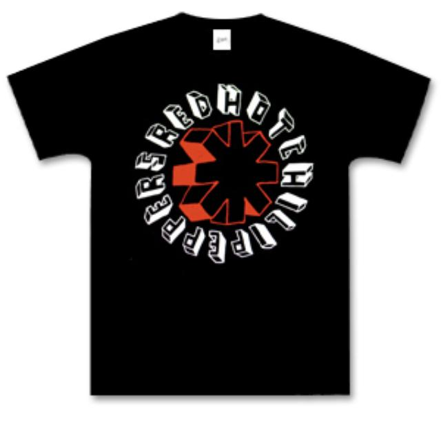 Red Hot Chili Peppers Hard Drawn T-Shirt