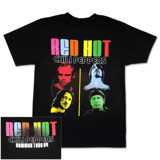 Red Hot Chili Peppers Color T-Shirt