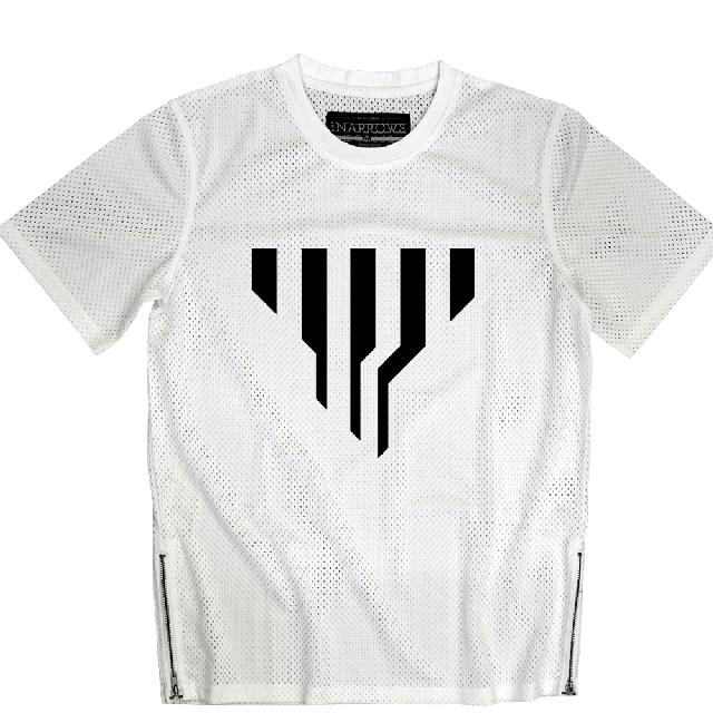 Electric Zoo Festival 2015 Narrows Transformed White Mesh Tee