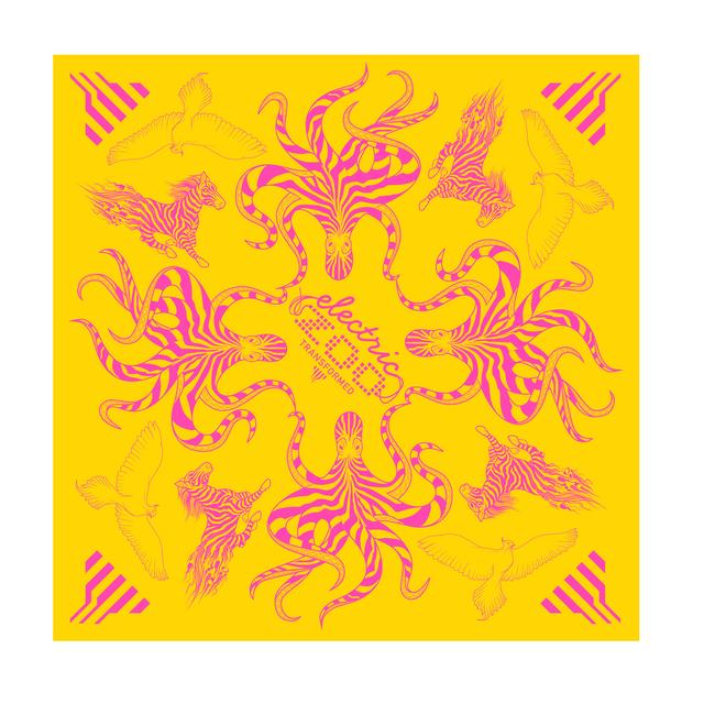 Electric Zoo Festival 2015 Yellow Bandana
