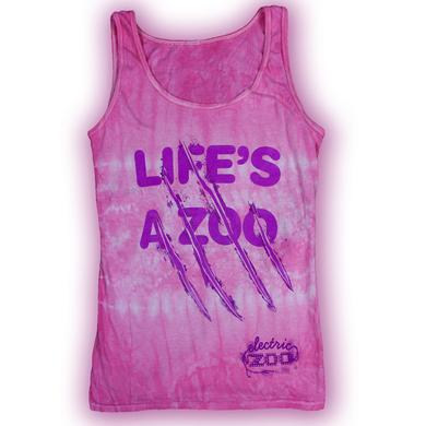 Electric Zoo Festival 2014 Life's a Zoo Women's Tank