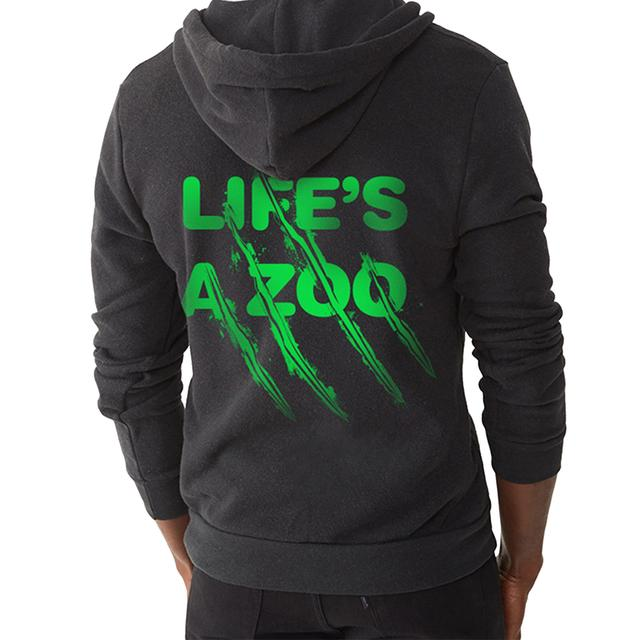 Electric Zoo Festival 2014 Life's a Zoo Hoodie (Black)