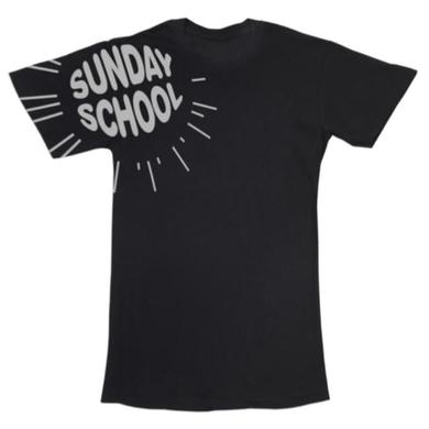 Electric Zoo Festival 2014 Sunday School Logo Tee (Black)