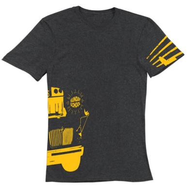 Electric Zoo Festival 2014 Sunday School Bus Tee (Charcoal)