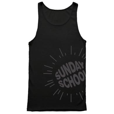 Electric Zoo Festival 2014 Sunday School Logo Tank (Black)