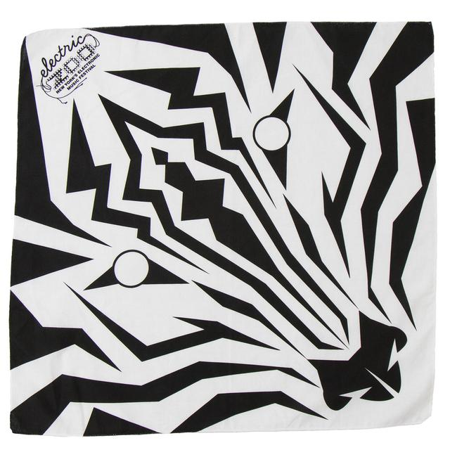 Electric Zoo Festival 2015 Zebra Bandana