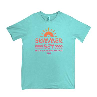 Summer Set Festival The Summer Set Event Tee (Light Aqua)