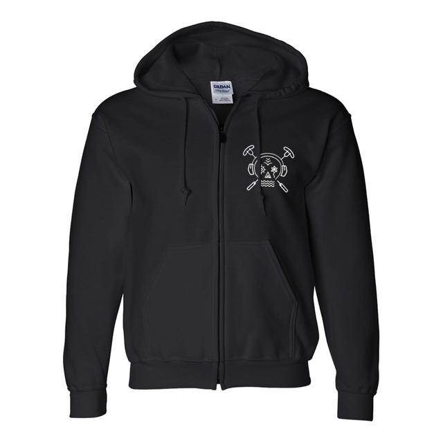 Summer Set Festival The Summer Set Zip Hoodie (Black)