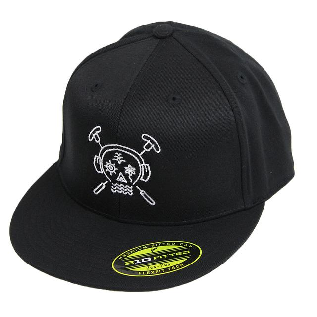 Summer Set Festival The Summer Set Fitted Hat (Black)
