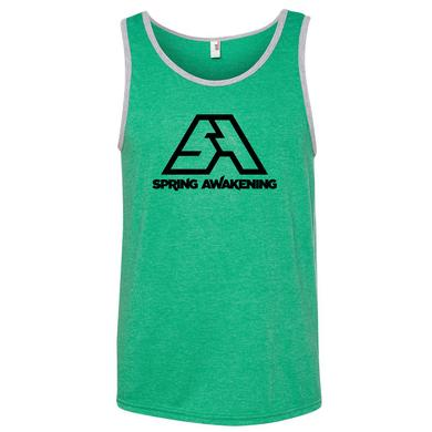 Spring Awakening Music Festival 2015 Event Logo Tank (Heather Green)