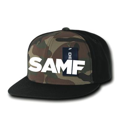 Spring Awakening Music Festival SAMF Camo Snapback