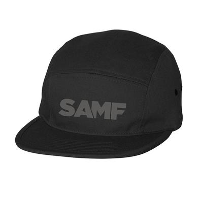 Spring Awakening Music Festival SAMF 5 Panel Hat (Black/Charcoal)