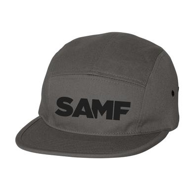 Spring Awakening Music Festival SAMF 5 Panel Hat (Grey/Black)