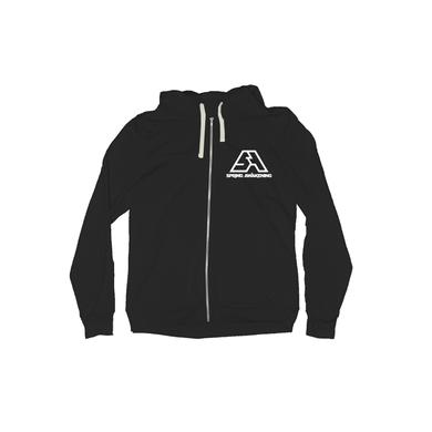Spring Awakening Music Festival SA Black Event Zip-Up Hoodie