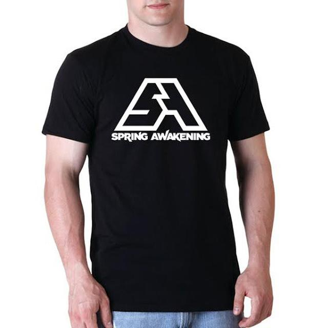 Spring Awakening Music Festival SA Logo Tee (Black)