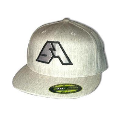 Spring Awakening Music Festival SA Logo Fitted Hat (Grey/Black)