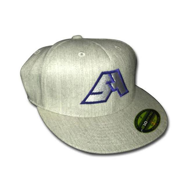 Spring Awakening Music Festival SA Logo Fitted Hat (Grey/Purple)