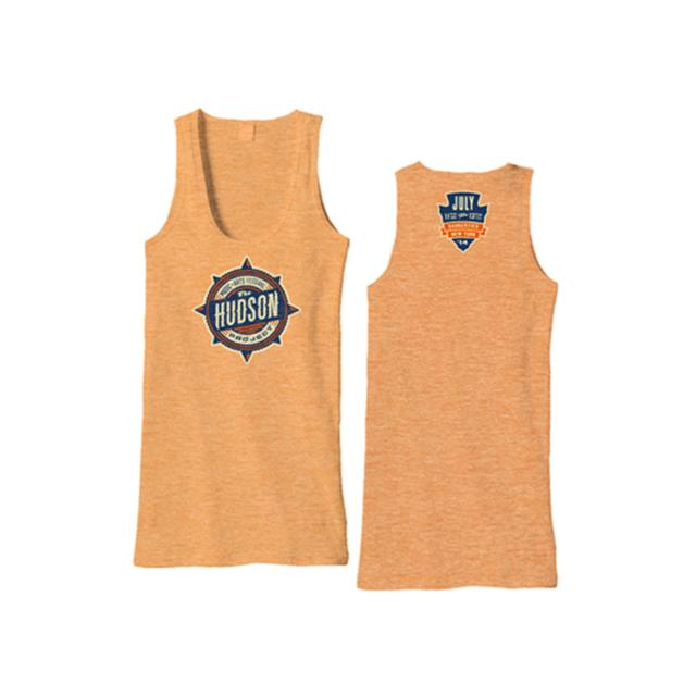The Hudson Project Event Tank (Neon Heather Orange)