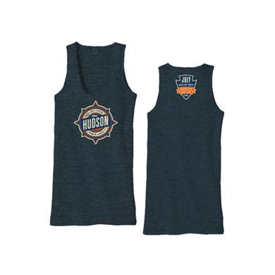 The Hudson Project Event Tank (Black Aqua)