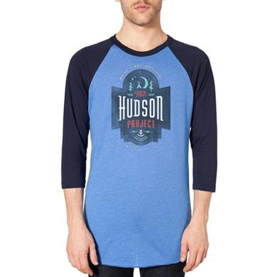 The Hudson Project Camp Logo Raglan Tee