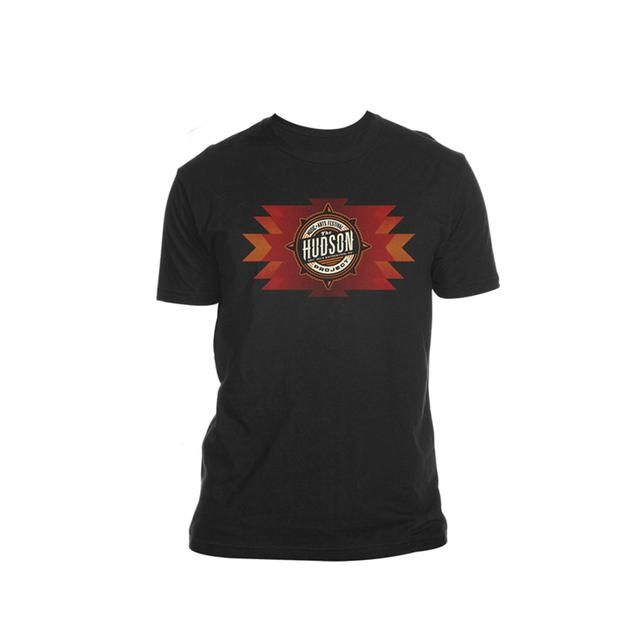 The Hudson Project Navajo Logo Tee (Black)