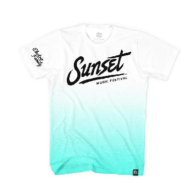 SMF Tampa Sunset Dip Dyed Electric Family x SMF Tee