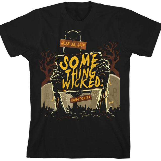 Something Wicked Festival Graveyard Tee