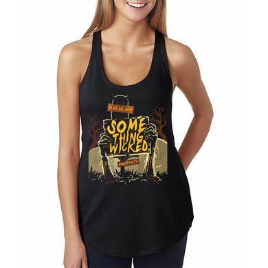 Something Wicked Festival Graveyard Women's Racerback Tank