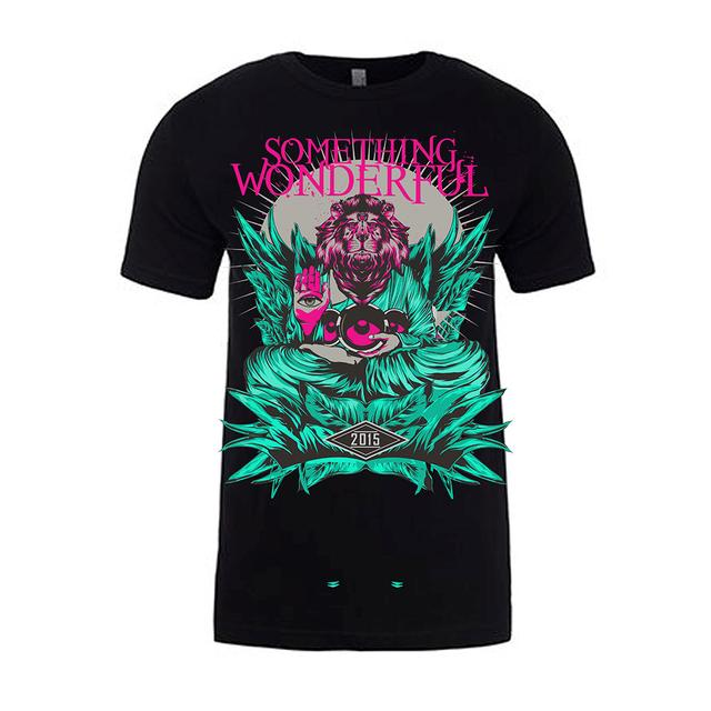 Something Wicked Festival Something Wonderful Lion Buddha Tee