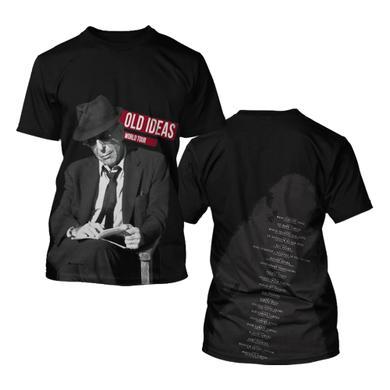Leonard Cohen 2012 Tour Tee