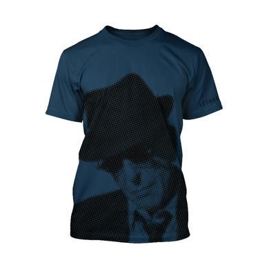 Leonard Cohen Halftone Unisex Tee