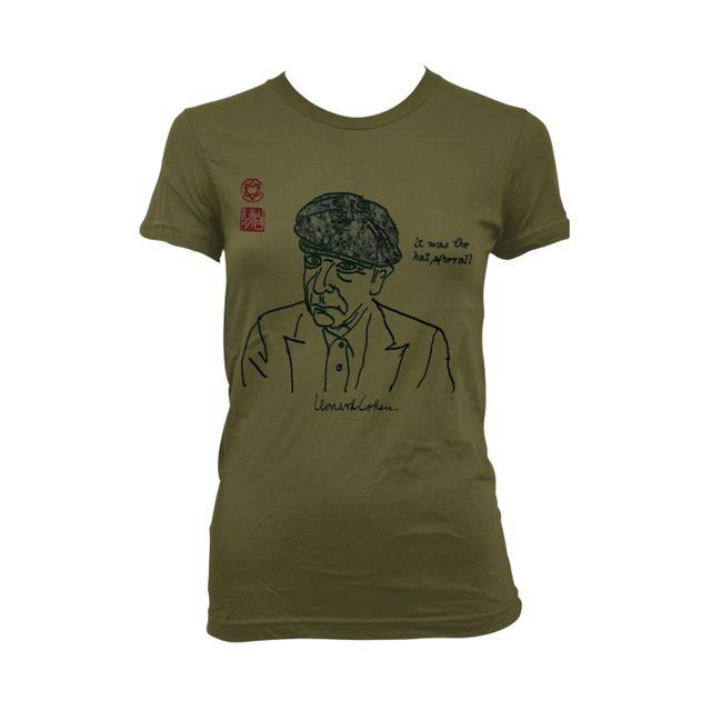 Leonard Cohen Afterall Girls Tee