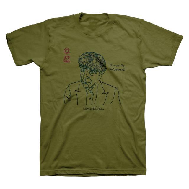 Leonard Cohen Afterall Unisex Tee