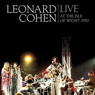 Leonard Cohen Live at The Isle of Wight Vinyl