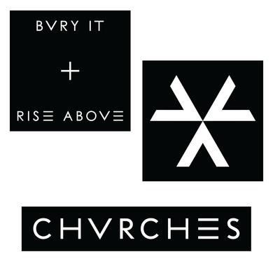 Chvrches Bvry It Patch Set