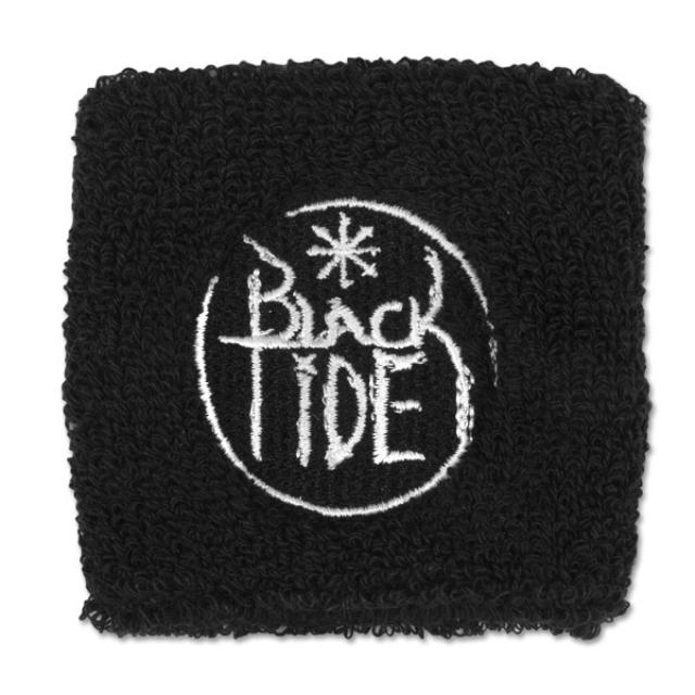 Black Tide Circle Logo Wristband