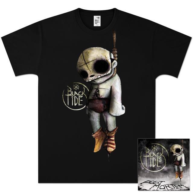 Black Tide - Post Mortem CD/T-Shirt Bundle