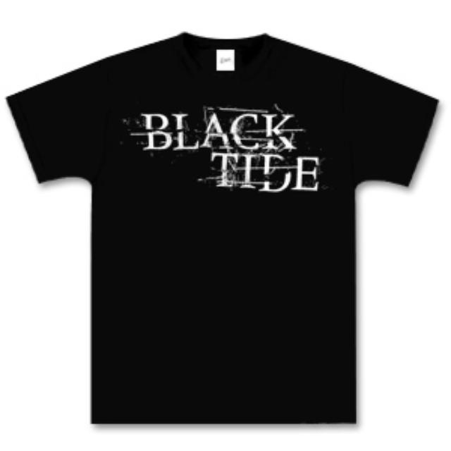 Black Tide Cracked Logo Tee