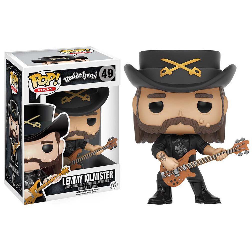 Funko Toys Lemmy Kilmister Motorhead Pop Rocks Vinyl Figure