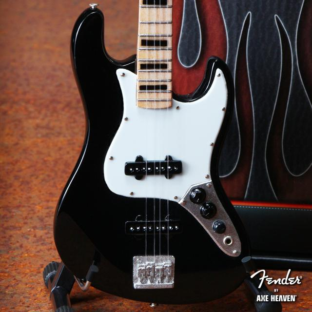Fender Jazz Bass Miniature Guitar - Maple Fretboard