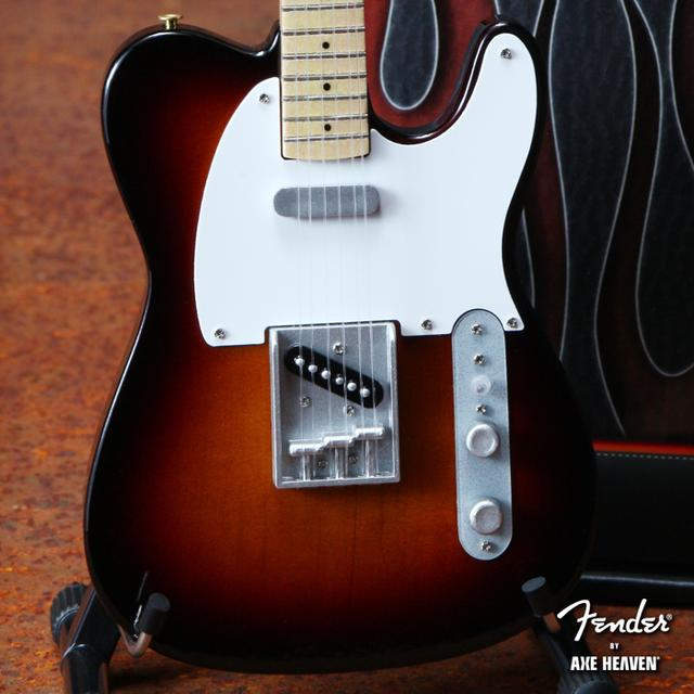 Fender Telecaster Miniature Guitar - Classic Sunburst Finish