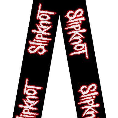 Slipknot Black Red Guitar Strap
