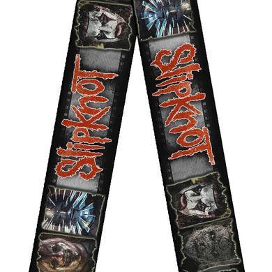 Slipknot Faces Guitar Strap