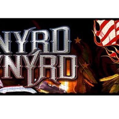 "Lynyrd Skynyrd Smoking Skull Seatbelt Belt (24-38"")"