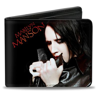 Marilyn Manson Clutching Collar Bifold Wallet