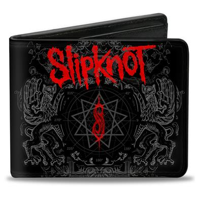 Slipknot King Down Bifold Logo Wallet