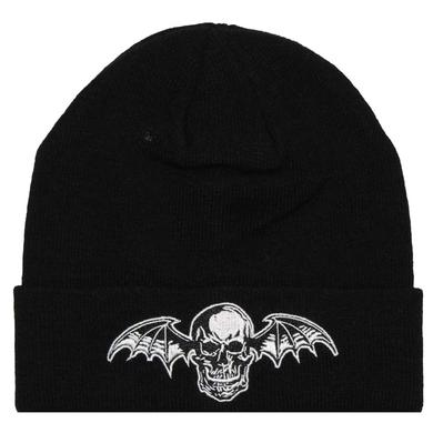 Avenged Sevenfold Logo Deathbat Beanie Hat